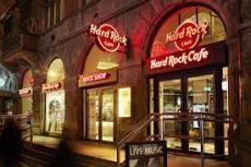 Hard Rock Cafe Menu Card