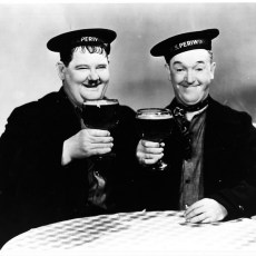 Laurel And Hardy With The Avalon Boys